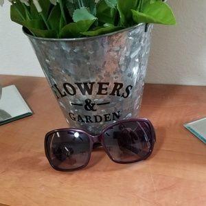 COACH Purple Sunglasses